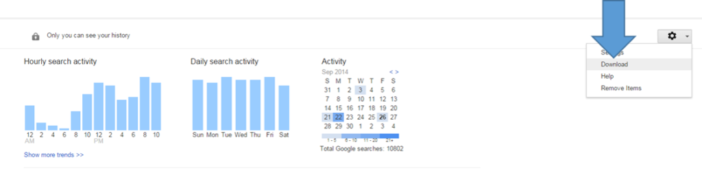 Google Search History 2