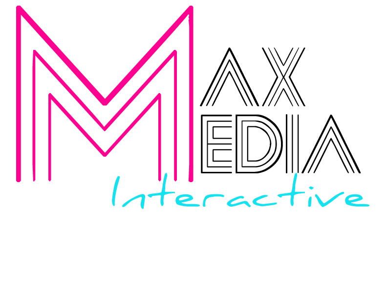 MaxMediaInteractiveLogoBLACK