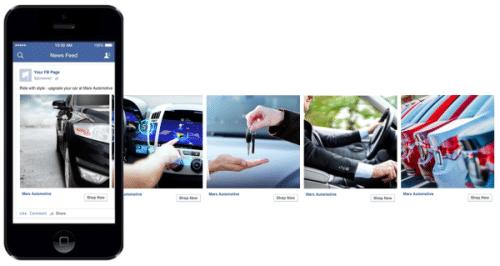 Facebook Carousel Car Ad
