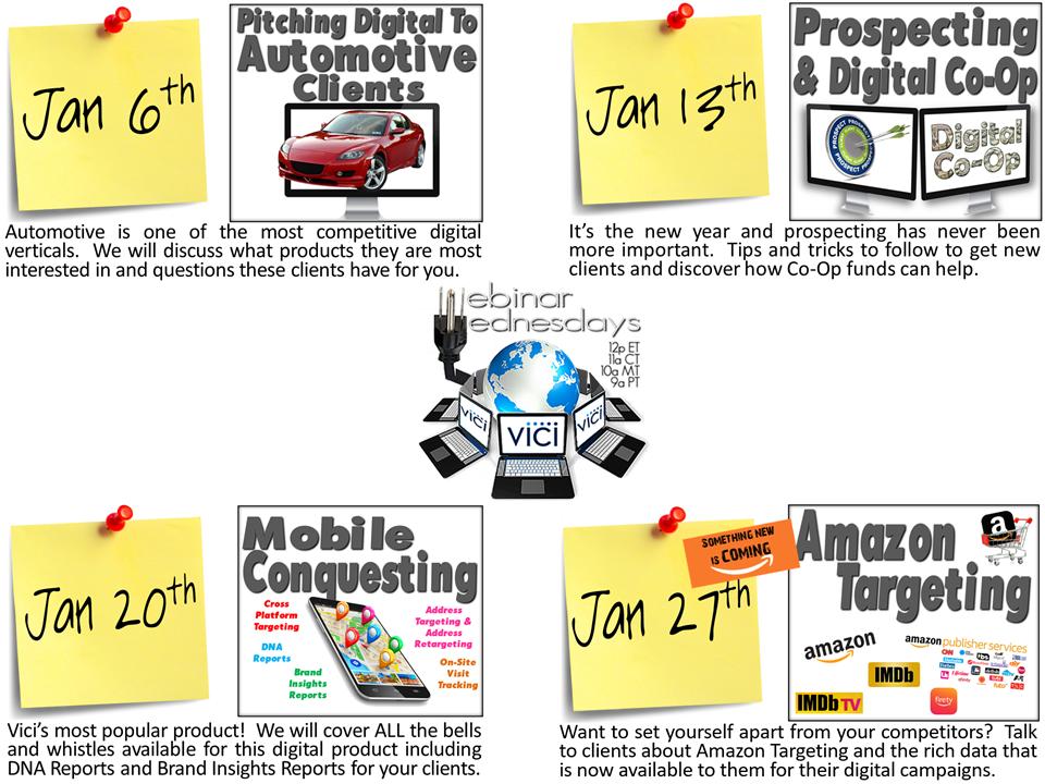 January webinar flyer