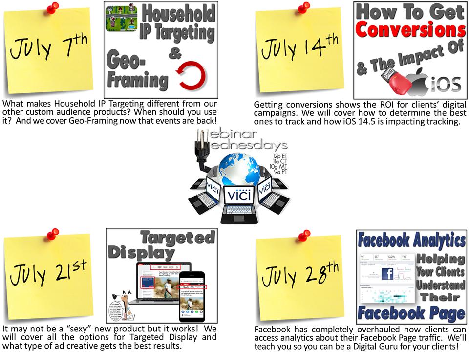 July webinar flyer